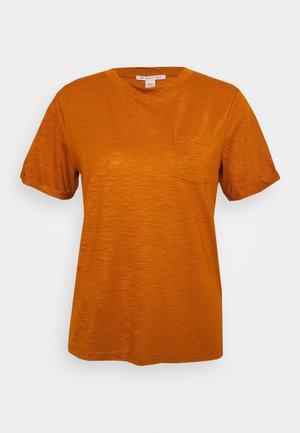 T-shirt basic - caramel cafe