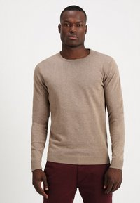 Selected Homme - SLHTOWER CREW NECK  - Jumper - tuffet - 0