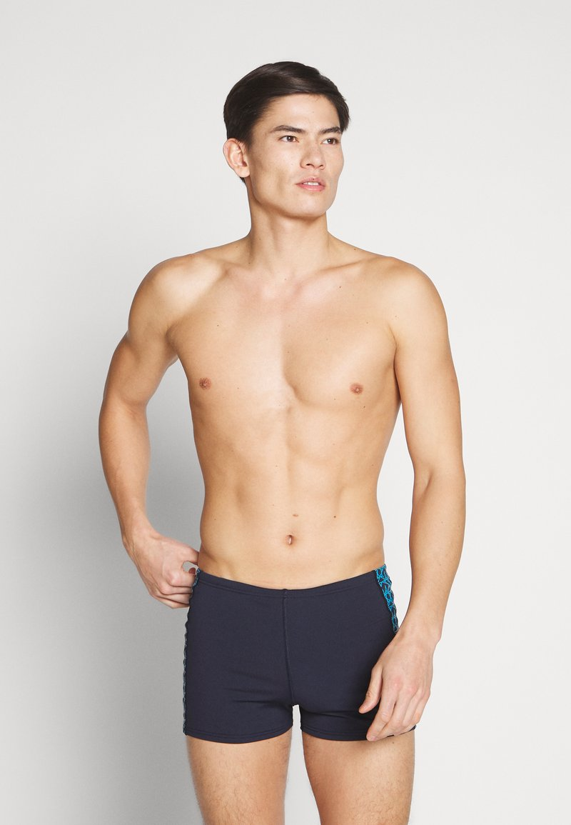 Speedo - BOOMSTAR SPL ASHT - Swimming trunks - true navy/pool