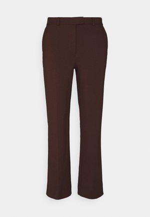 NOORA - Trousers - noon plum