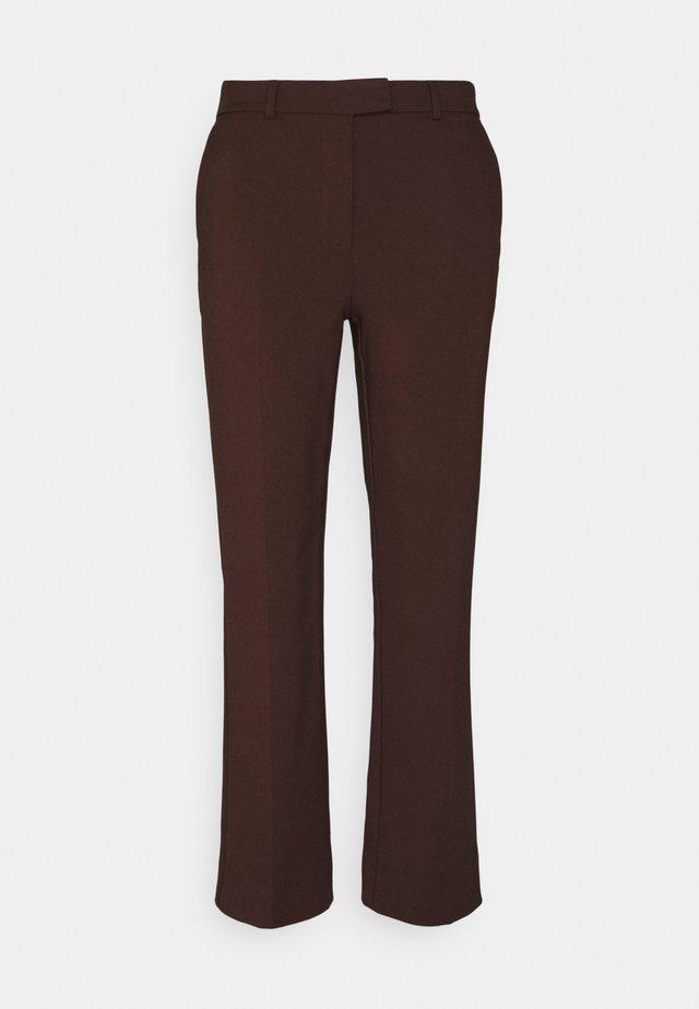 NOORA - Pantalon classique - noon plum