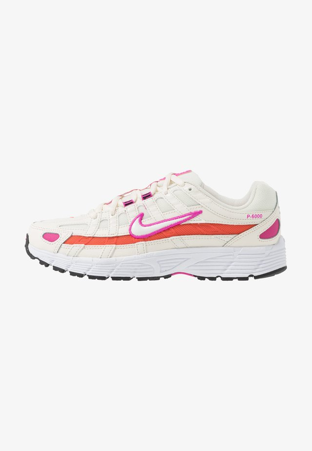 P-6000 SUFA20  - Sneakers - pale ivory/white/fire pink/team orange/photon dust/black