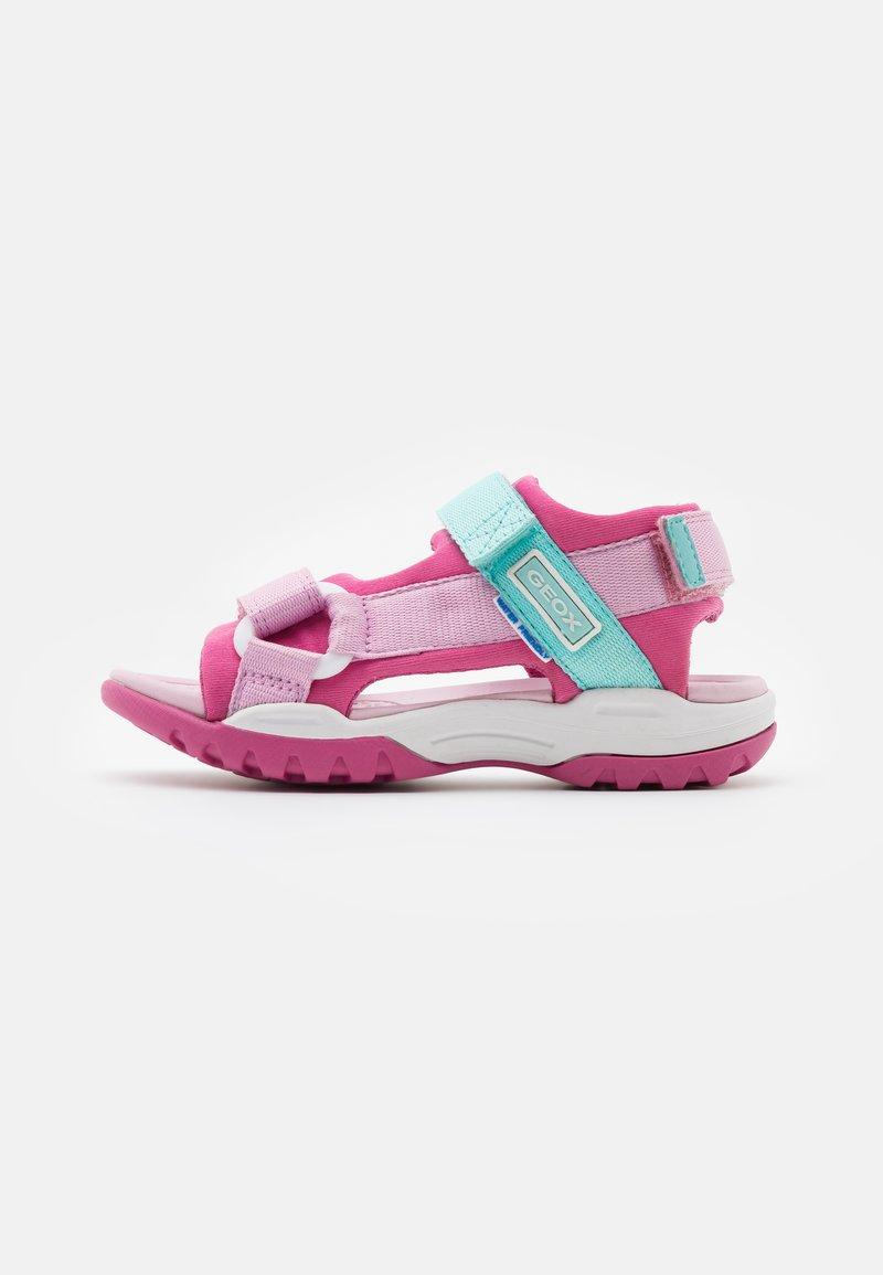 Geox - BOREALIS GIRL - Walking sandals - fuchsia/pink