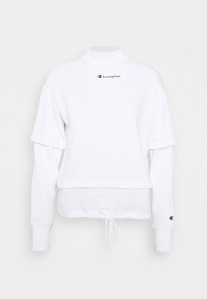 HIGH NECK LEGACY - Collegepaita - white