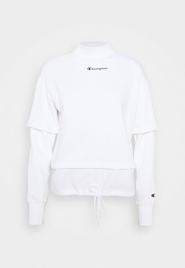 HIGH NECK LEGACY - Sweatshirt - white