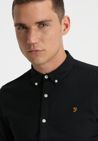 Farah - BREWER - Overhemd - black ink - 3