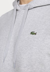 Lacoste Sport - CLASSIC HOODIE - Hoodie - silver chine/elephant grey - 6