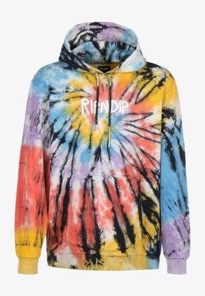 Sweater - spiral tie dye