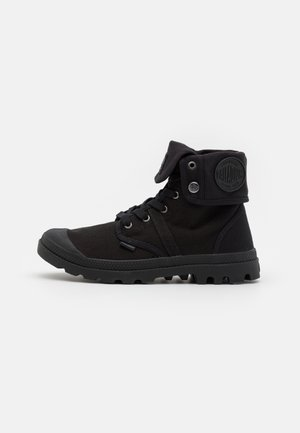 VEGAN PALLABROUSSE BAGGY - Lace-up ankle boots - black