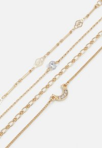 Pieces - PCMIMO BRACELET KEY 4 PACK - Bracelet - gold-coloured - 2