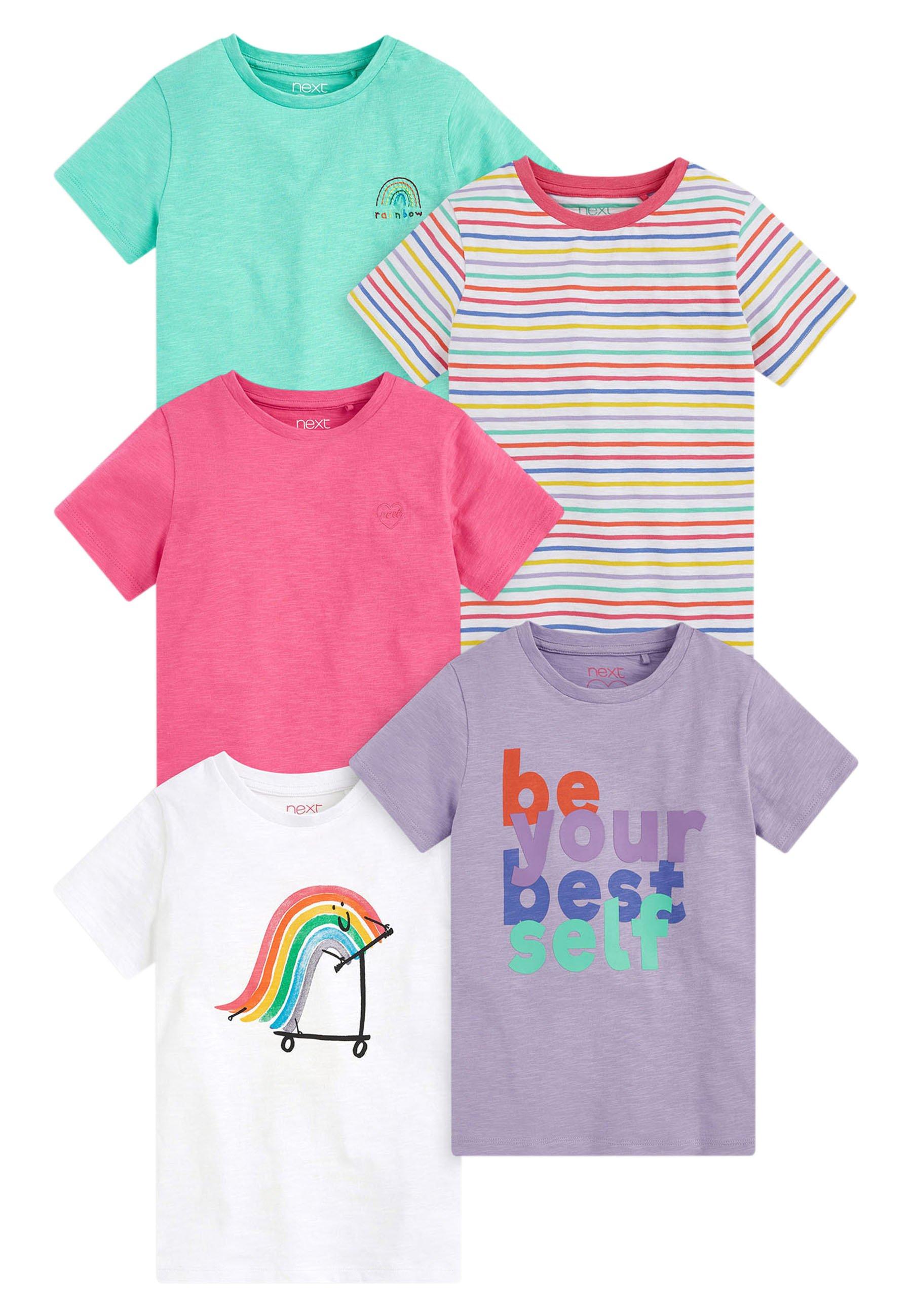 Kinder 5 PACK - T-Shirt print