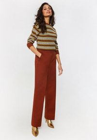 WE Fashion - Trousers - red - 3