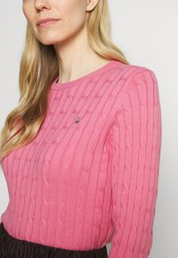 GANT - CABLE CREW - Jumper - chateau rose - 4
