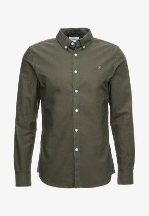 BREWER - Camicia - military green