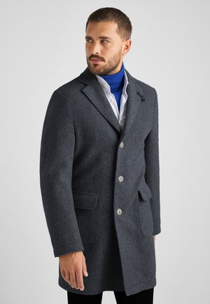 HARRISON - Classic coat - quiet shade melange