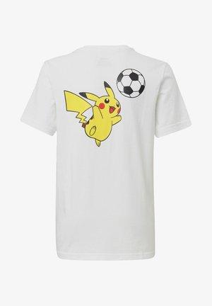 POKÉMON T-SHIRT - T-shirt z nadrukiem - white