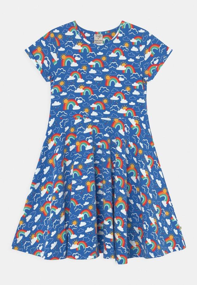 SOFIA SKATER - Vestito di maglina - blue