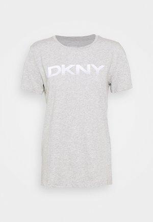 FOUNDATION LOGO TEE - T-shirts print - heather grey