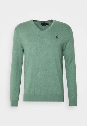 LONG SLEEVE - Strickpullover - seafoam heather