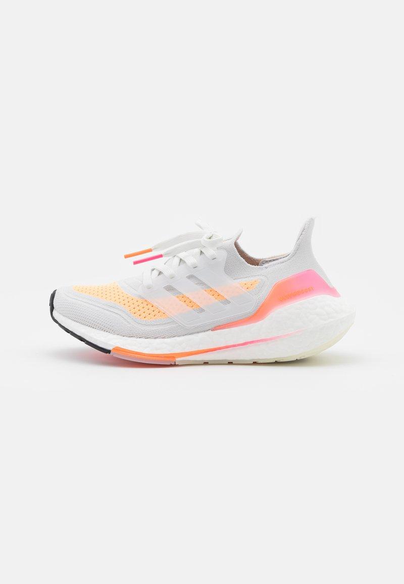 adidas Performance - ULTRABOOST 21 - Neutral running shoes - crystal white/acid orange