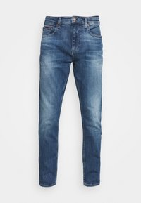 Tommy Jeans - AUSTIN SLIM TAPERED - Slim fit jeans - dynamic chester mid blue - 4