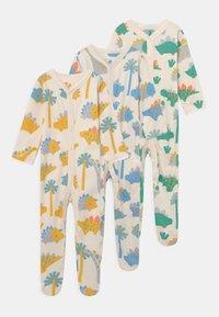 Marks & Spencer London - BRIGHT BABY 3 PACK UNISEX - Sleep suit - multi-coloured - 0