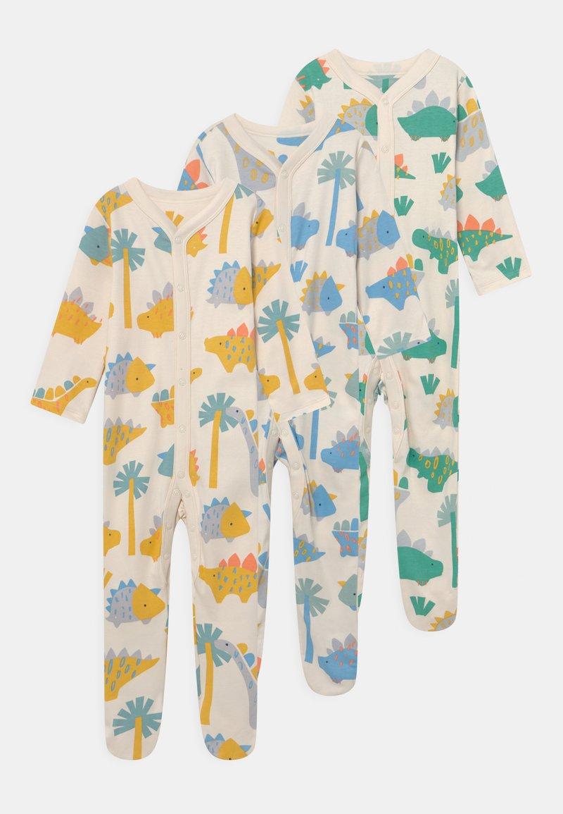 Marks & Spencer London - BRIGHT BABY 3 PACK UNISEX - Sleep suit - multi-coloured
