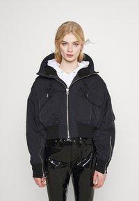 Weekday - REEVES JACKET - Light jacket - black solid - 0