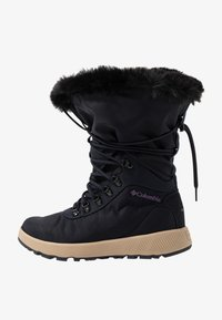 Columbia - SLOPESIDE VILLAGE OMNI-HEAT - Śniegowce - extreme midnight/cyber purple - 0
