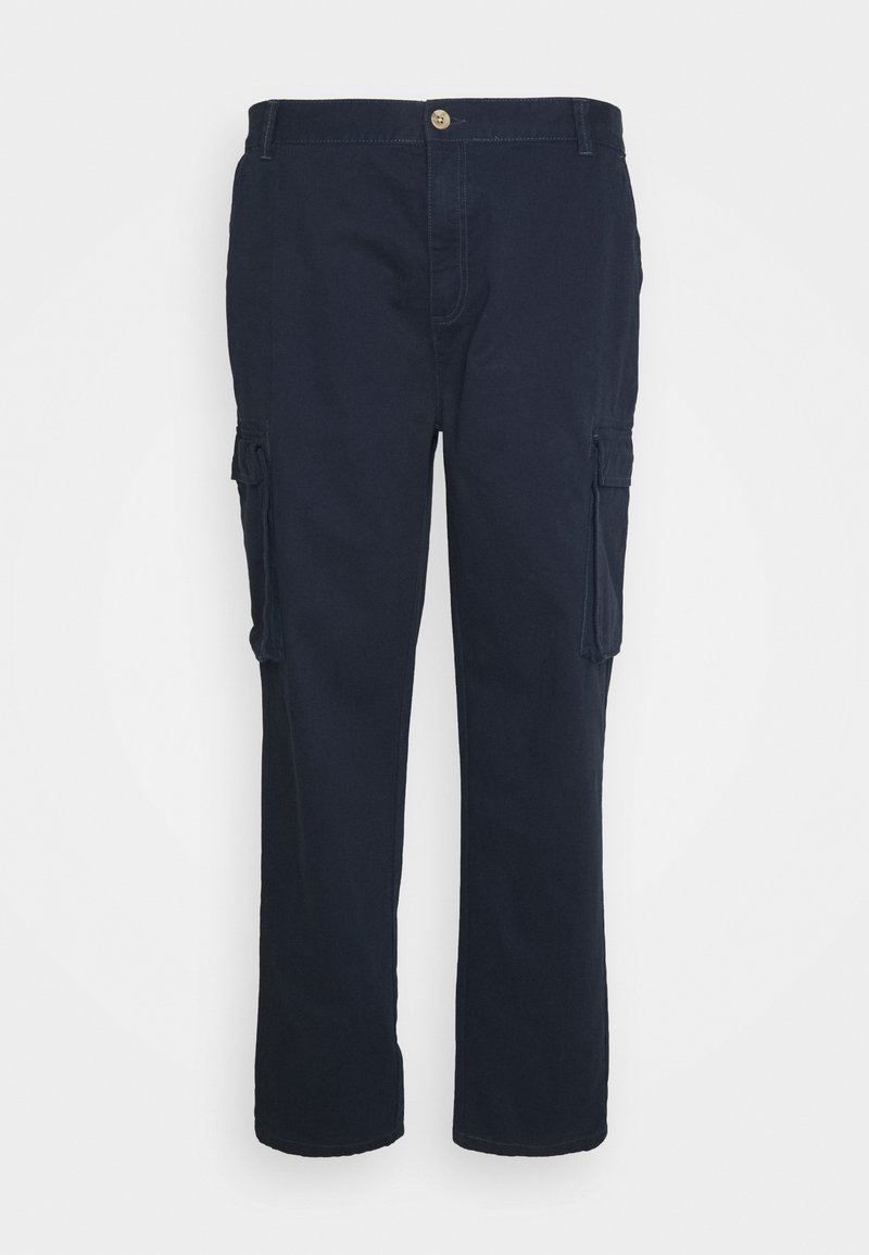 Newport Bay Sailing Club - PANT BIG AND TALL - Cargo trousers - navy