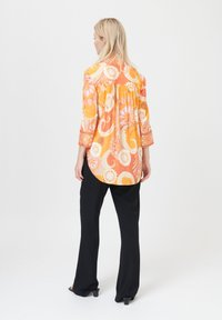 Dea Kudibal - KAMI (V) - Button-down blouse - khanga orange - 2
