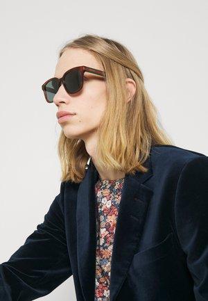 Sunglasses - havana/green/grey