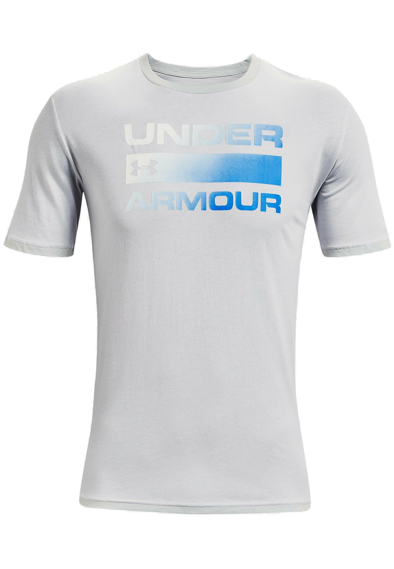 Men UA TEAM ISSUE WORDMARK  - Print T-shirt