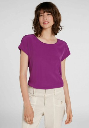 T-shirt basic - grape juice