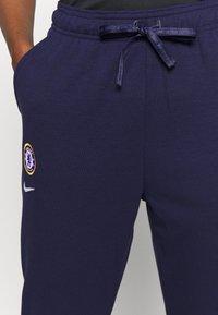 Nike Performance - CHELSEA LONDON DRY PANT - Club wear - blackened blue/white - 3