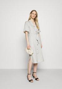 Expresso - DELANY - Shirt dress - steel grey melange - 1