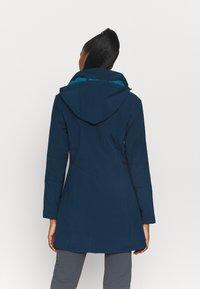 Campagnolo - WOMAN ZIP HOOD - Giacca softshell - blue ink/lake - 2