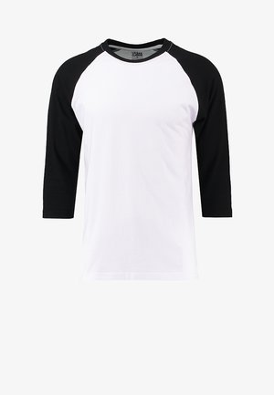 Longsleeve - white/black