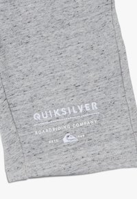 Quiksilver - EASY DAY TRACK  - Tracksuit bottoms - light grey heather - 4