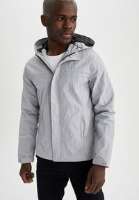 DeFacto - Waterproof jacket - grey - 0