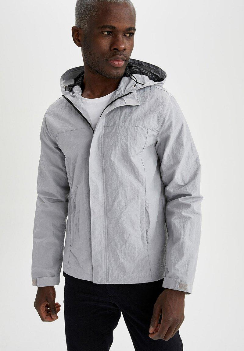 DeFacto - Waterproof jacket - grey