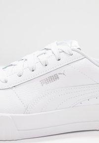 Puma - CARINA  - Trainers - white/silver - 2