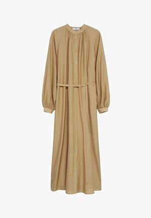 Shirt dress - marron moyen
