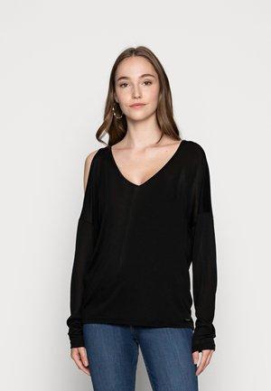 CORA - Long sleeved top - black