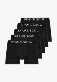 Brave Soul - ALASTAIR 5 PACK - Underkläder - black