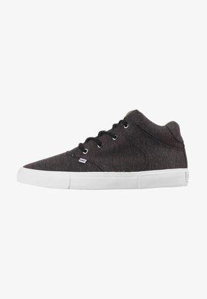 Sneakers hoog - black