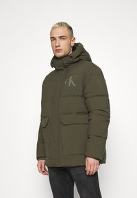 Calvin Klein Jeans - ECO JACKET - Winter jacket - deep depths - 0
