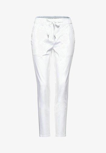 Trousers - weiß