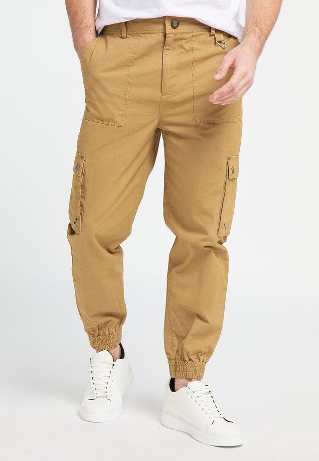 Pantaloni cargo - dark sand