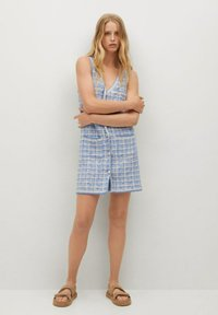 Mango - Jumper dress - bleu - 1